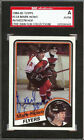 Mark Howe Autographed Signed 1984-85 Topps Card #118 Philadelphia Flyers SGC