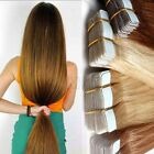 skin weft hair extensions - BIG SALE Seamless Tape in Long Remy Real 100% Human Hair Extensions Skin Weft HQ