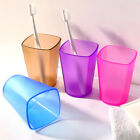 Plastic Bathroom Toothbrush Holder Travel Water Wash Cups Gargle Cups 6 Colors