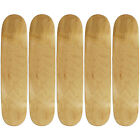 "5 Pro Skateboard Decks Blank Choose Your Color + Size (7.75"" 8.0"" 8.25"" 8.5"")"