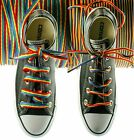 TZ Laces® Branded Gay Pride Rainbow Flat/Oval shoelaces Boots, Shoes, Trainers