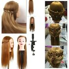 "Salon Makeup Hair Hairdressing Practice Head Mannequin Training Model 22""-26"""
