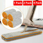 4X 360° Double-Side Flat Hands-Free Washable Mop Cloth Lazy Home Cleaning Tool