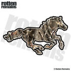 Camo Horse Decal Hunting Camouflage Pony Mustang Gloss Sticker (RH) HGV