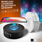 QI Wireless Charger Bluetooth NFC Speaker Bass For Samsung S8 iphone 8 Plus X