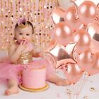 Rose Gold Foil Balloon Set Helium Confetti Birthday Wedding Party Love Decor