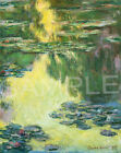 Claude Monet Water Lilies Fine Art Vintage Wall Canvas Print/Poster A1/A2/A3/A4