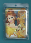 Beaty and the Beast - Light Switch Cover - Matching Screws Included - New