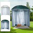 7.2' Outdoor Beach Sun Umbrella Canopy Shelter & Sunshield Combo Garden Patio w/
