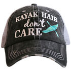 Katydid Kayak Hair Don't Care Women's Trucker Hat