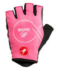 NEW Castelli 2018 GIRO D'ITALIA ROSA Summer Cycling Gloves : PINK - All Sizes
