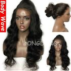 8A 360 Lace Frontal Wig Unprocessed Black Blonde Straight Brazilian Human Hair s