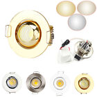 Dimmable Mini 3W LED Recessed Ceiling Downlight AC 220V Lamp +Driver High Power