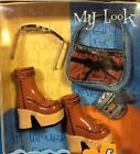 NRFB 2002 MY SCENE Accessories MY LOOK #B4873 Platform Boot Purse Glasses Camera