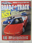 Road and Track Magazine   August  1990    BMW 950i Driving Impressions