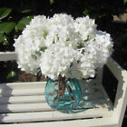 Внешний вид - Decoration Garden Wedding Single Silk Flowers Craft Centerpiece Bridal Hydrangea