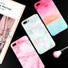 Colorful Marble cloud Silicone Soft Phone case Cover for iphone X 6 6s 7 8 plus