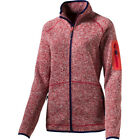McKinley Skeena Damen Fleecejacke red/red light