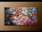 Original Plum Blossom Abstract oil Painitng Canvas Modern Wall Art Framed FY3627