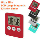 Large LCD Digital Kitchen Cooking Timer Count-Down Up Clock Alarm Magnetic Hot
