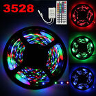 5-20M RGB LED Strip light SMD Non-Waterproof Remote Control 12V Power Full Kit