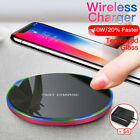 Fast Charging Qi Wireless Charger for Samsung Galaxy S8 S9 Plus S7 Edge Note 8 X