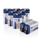 EBL Lot 280mAh 9V NIMH Rechargeable Battery / 9-Volt Charger for Ni-MH NICD