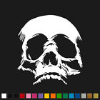 "Skull Decal 6""x5.5"" Death Skulls Bones Vinyl Car Truck Window Sticker SDC"