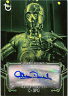 Star Wars Black & White Autograph Green Anthony Daniels as C-3PO 13/25 $243.7 USD