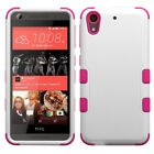 For HTC Desire 626 626S Shockproof Tuff Hybrid Armor Hard Soft Rubber Phone Case