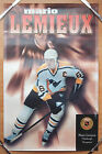 1996 MARIO LEMIEUX PITTSBURGH PENGINS SZ 24X34 Kellogg's nhl Collection Poster