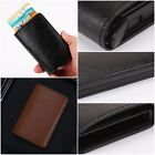 Men Women Unisex Soft Leather Wallet Credit Cards Holder Money cash Wallet Gifts
