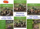 Home Essential Garden Gnome Decoration Mini Fairy Decor 7 Pc Garden Kit NEW