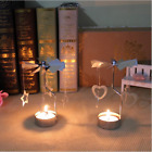 DIY Hot Spinning Rotary Tabletop Tea Light Candle Holder Stand Mother Xmas Gift