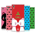 HEAD CASE DESIGNS CHRISTMAS CATS SOFT GEL CASE FOR SONY PHONES 1