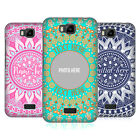 CUSTOM CUSTOMISED PERSONALISED MANDALA HARD BACK CASE FOR HUAWEI PHONES 2