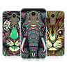 HEAD CASE DESIGNS AZTEC ANIMAL FACES 2 HARD BACK CASE FOR LG PHONES 1