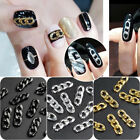 Punk Styles Copper Chain For Acrylic Nail Art Tips DIY Women Manicure Decoration