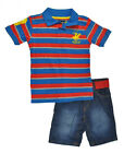 Beverly Hills Polo Club Boys Polo 2pc Short Set Size 2T 3T 4 5/6