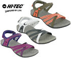 Hi-tec Savanna Sandals Womens Flats Open Toe Slingback Fitness Walking Summer