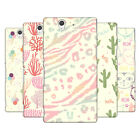 HEAD CASE DESIGNS EVERYTHING PASTELS HARD BACK CASE FOR SONY PHONES 3