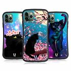 HEAD CASE DESIGNS CATS AND BLOSSOMS HYBRID CASE FOR APPLE iPHONES PHONES