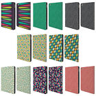 HEAD CASE DESIGNS LEAF PATTERNS 2 LEATHER BOOK WALLET CASE COVER FOR APPLE iPAD