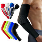 Honeycomb Crashproof Basketball Football Shooting Arm Sleeve Elbow Support Pads