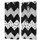 HEAD CASE DESIGNS BNW DOODLE LEATHER BOOK WALLET CASE FOR MICROSOFT NOKIA PHONES