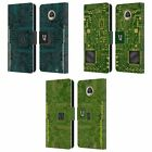 HEAD CASE DESIGNS CIRCUIT BOARDS LEATHER BOOK WALLET CASE FOR MOTOROLA PHONES