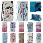 Leather Wallet Magnetic Smart Flip Case Cover for Samsung Galaxy S5 S6 S7 Edge