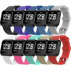 10-Pack Soft Silicone Strap Classic Bands with Secure Buckle for Fitbit Versa