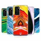 HEAD CASE DESIGNS COLOURFUL AGATES SOFT GEL CASE FOR HUAWEI PHONES