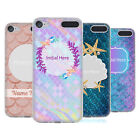 CUSTOM CUSTOMISED PERSONALISED MERMAID SCALES GEL CASE FOR APPLE iPOD TOUCH MP3